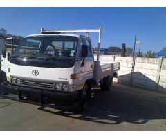 Reliable Transport Services 1 to 3 ton bakkie or truck with driver for hire