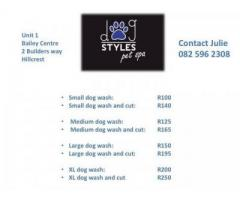 Dog Styles Pet Spa - NOW OPEN!