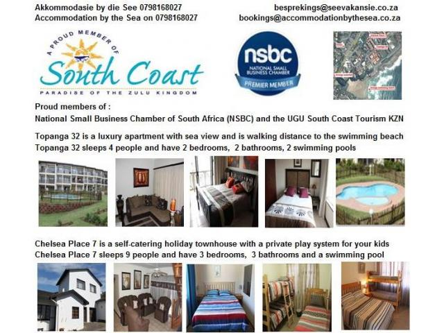 Holiday special on accommodation by the sea 0798168027